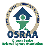 Oregon Senior Referral Agency Association Seal