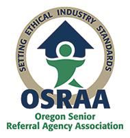 Oregon Senior Referral Agency Association Seal